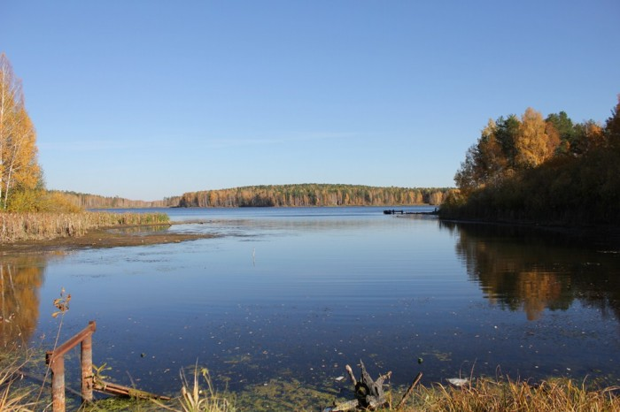 Осеннее водохранилище