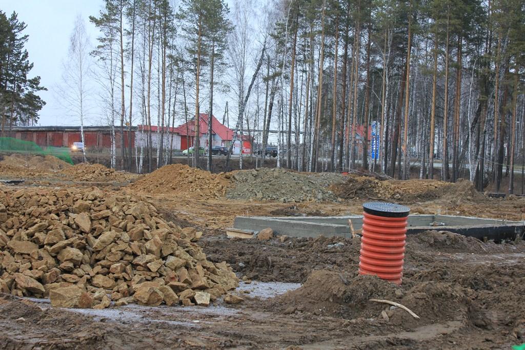 Строительство нового магазина