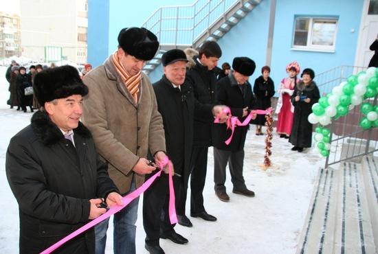 В посёлке Рефтинском открыли новый детский сад