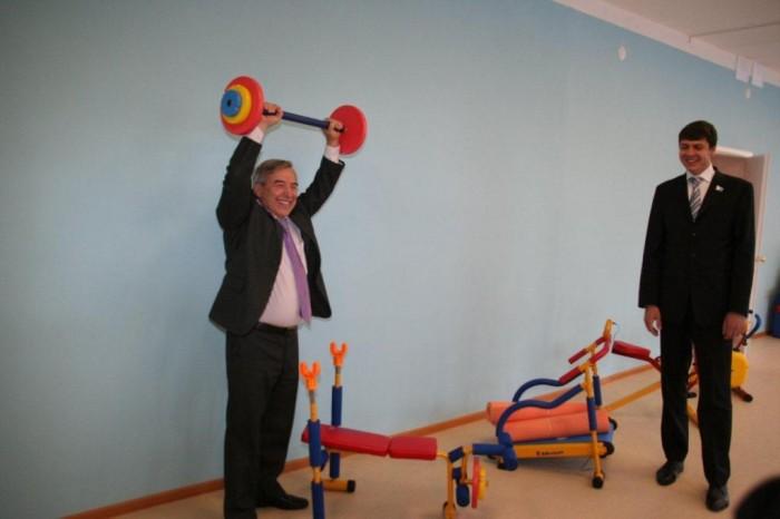 Пшеницин Сергей Григорьевич и штанга