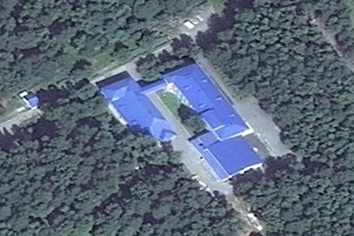 Карта - Синяя крыша