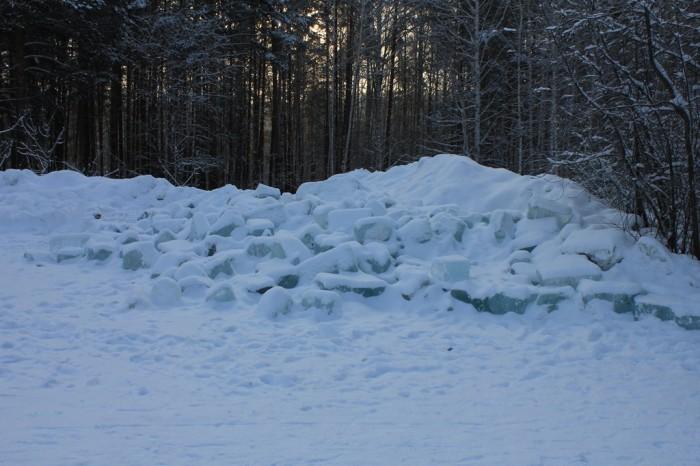 Ледяной городок 2013