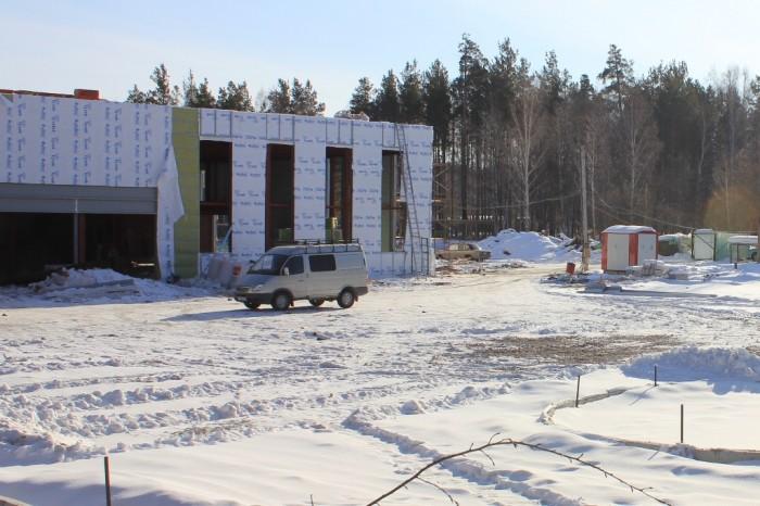 Стройка возле автовокзала