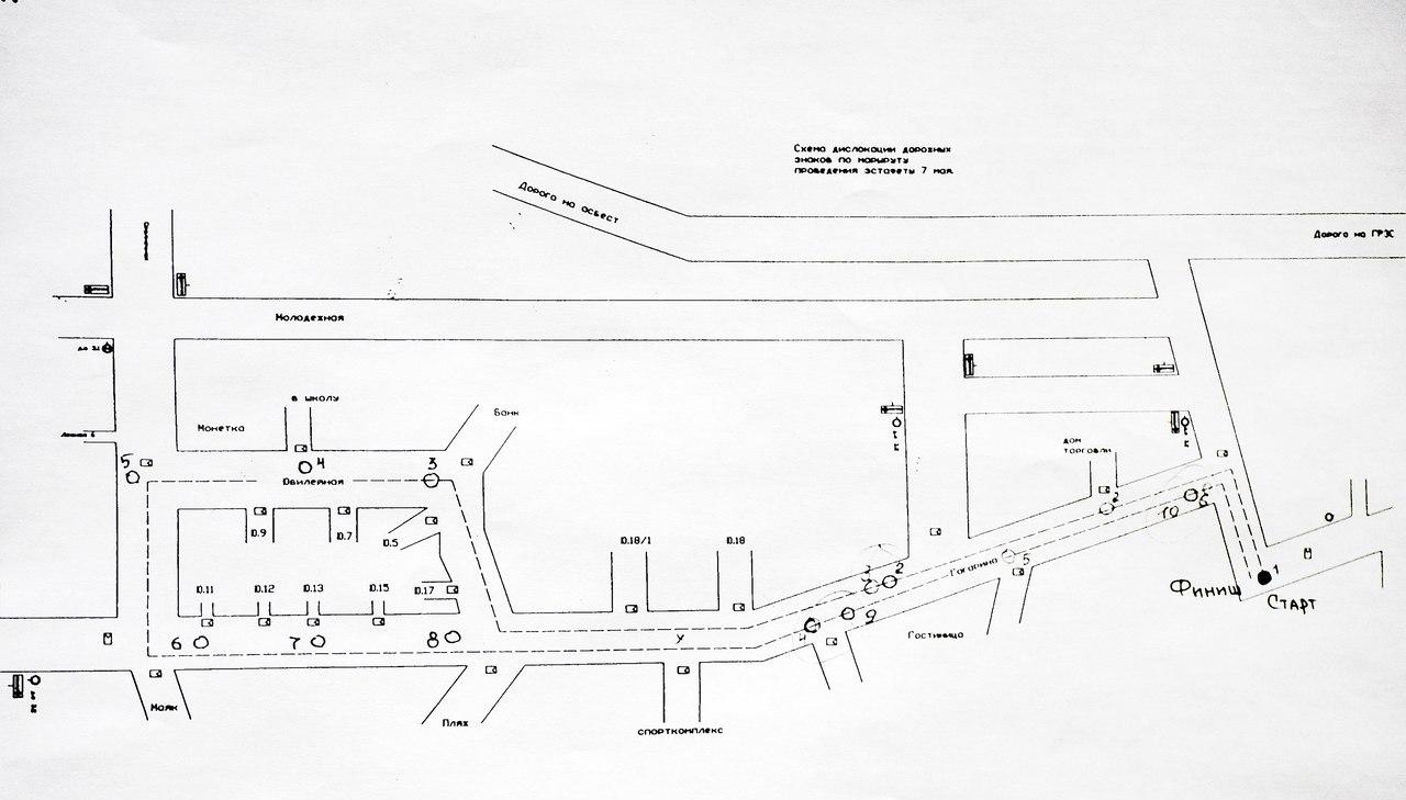 схема маршрут из дома в школу