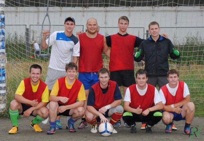 Открытое первенство Рефтинской ГРЭС по футболу 2013