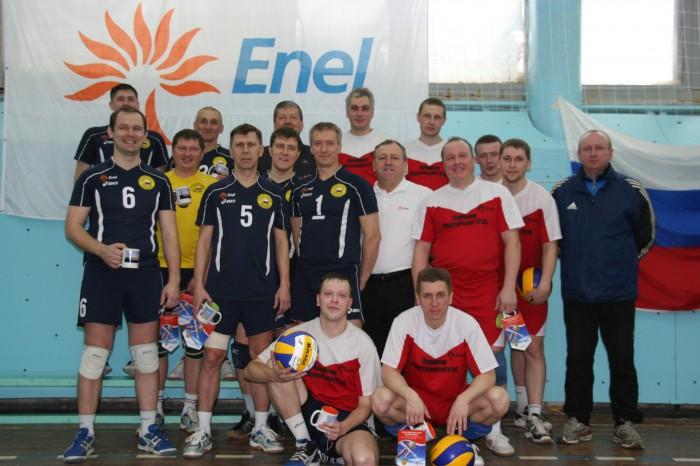 Олимпийский волейбол энергетиков
