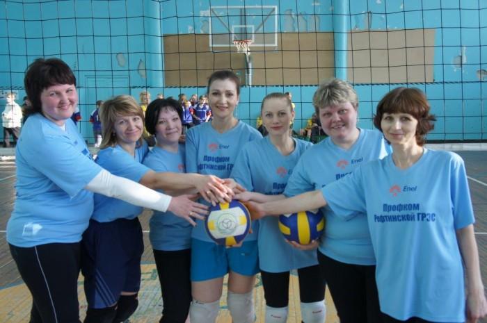 Женский волейбол Рефтинской ГРЭС