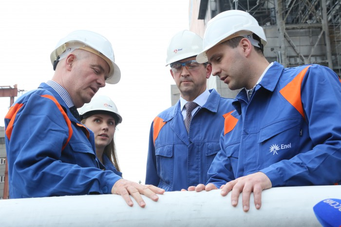 Модернизированный энергоблок на Рефтинской ГРЭС