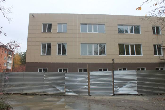Ремонт здания администрации