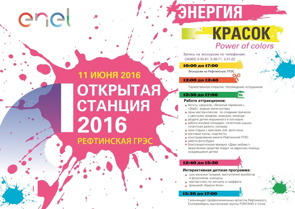 афиша Открытая станция РГРЭС